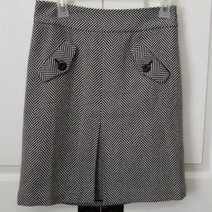 Ann Taylor Loft knee length wool skirt.